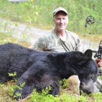 Archery black bear hunt